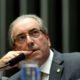 Brasília - Presidente da Câmara, Eduardo Cunha, durante votação da Medida Provisória sobre renegociação de dívidas de produtores rurais e de caminhoneiros (Wilson Dias/Agência Brasil)