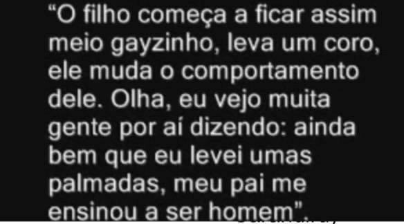 Declaração pública do Deputado Federal Jair Bolsonaro