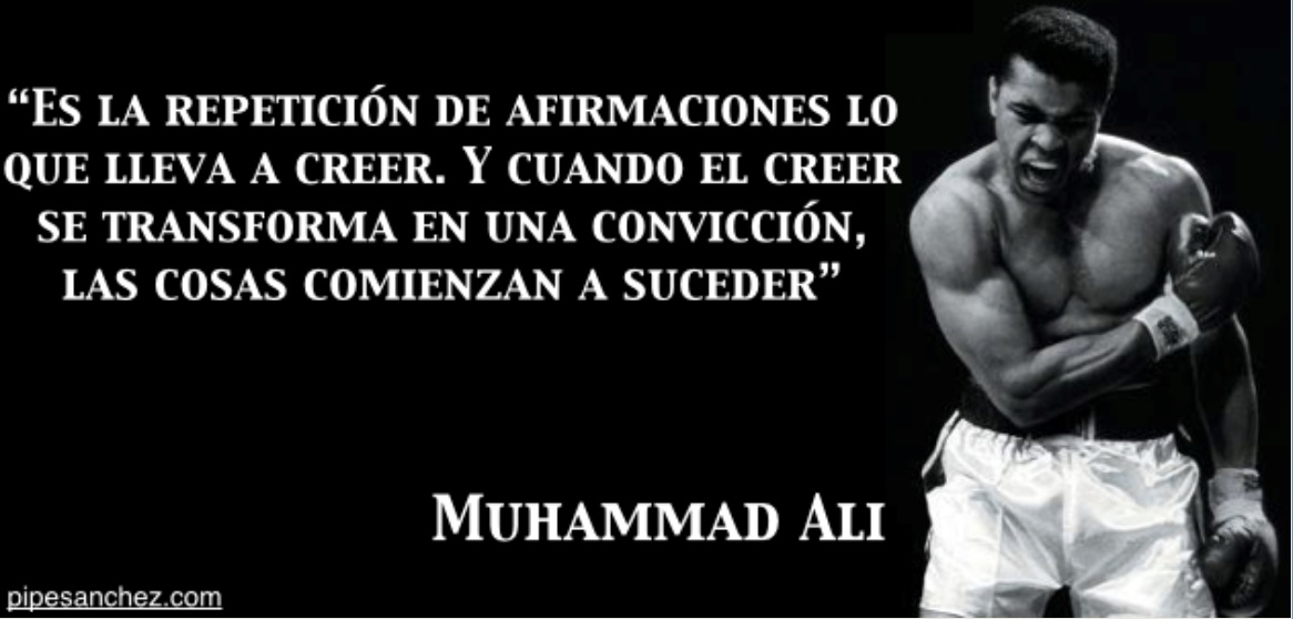Mohamed Ali - o maior boxeador do mundo.