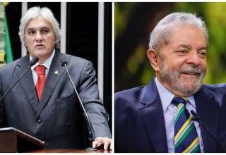 Montagem: Pedro França/Agência Senado e Heinrich Aikawa/Instituto Lula