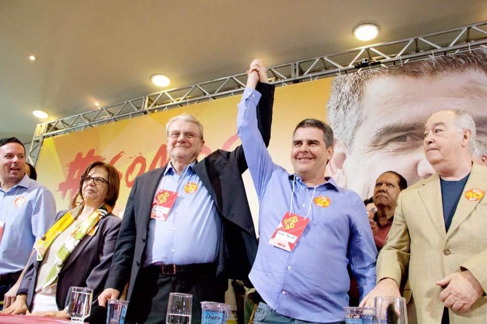 Empresário Paulo Brant é o indicado pelo atual prefeito Marcio Lacerda (PSB) para sucessão na PBH