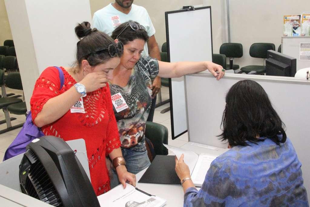 Em cima da hora: Vanessa Portugal foi a última a registrar candidatura (Reprodução/Facebook)