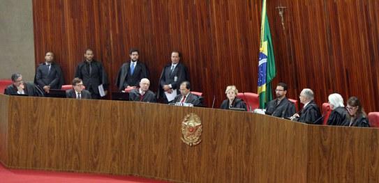 Sessão do Tribunal Superior Eleitoral decidiu pela cassação dos mandatos do prefeito e da vice-prefeita de Nova Lima (Reprodução/TSE)