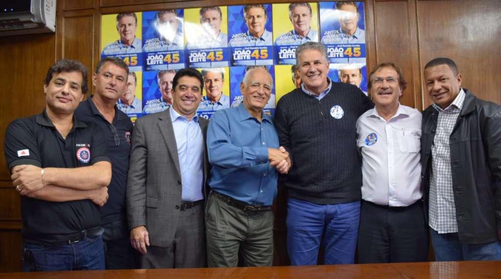Sargento Rodrigues (PDT) declarou apoio a João Leite (PSDB) na última quarta-feira (5) (Reprodução/Facebook)