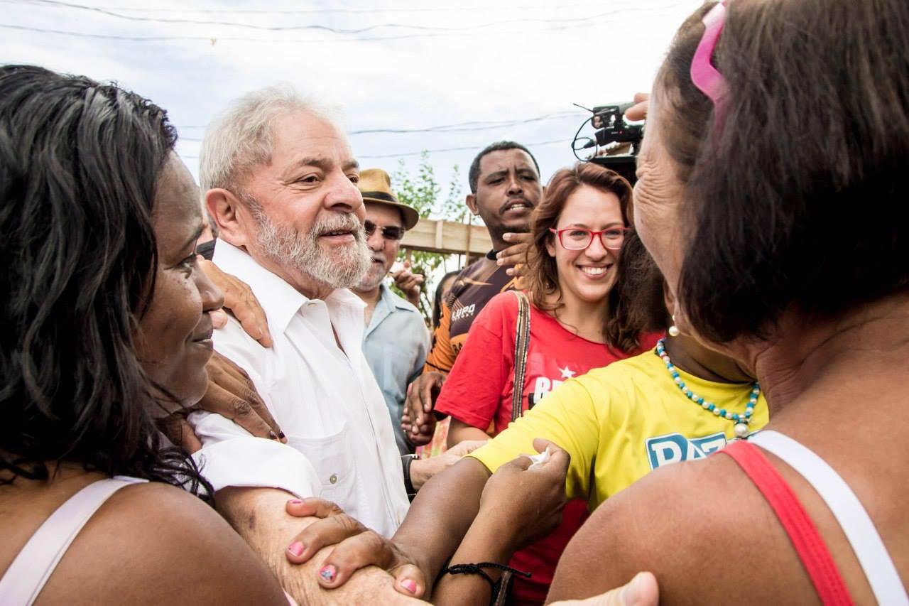 'Se for necessário, não tenha dúvida de que eu voltarei', diz Lula em BH sobre 2018