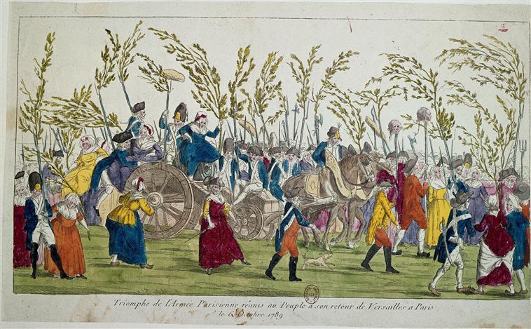Campesinato na Revolução Francesa (Reprodução: http://www.larousse.fr)