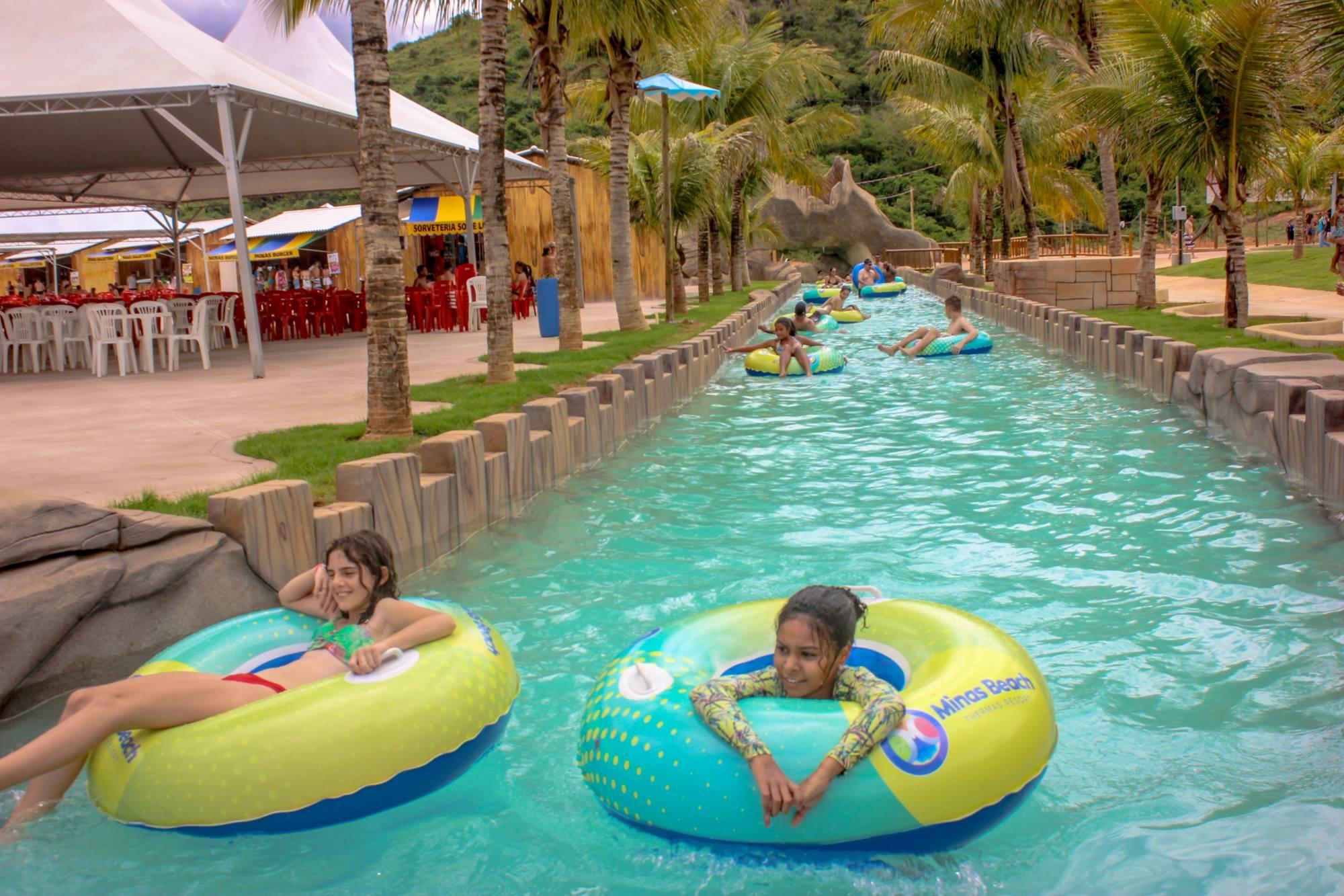Minas beach thermas resort o novo parque aqu tico dos - Piscina onda ...