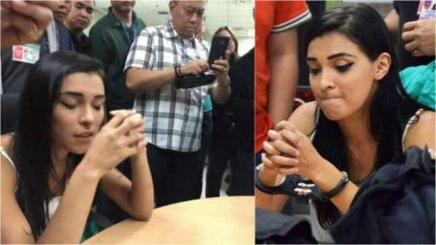 Brasileira presa nas Filipinas