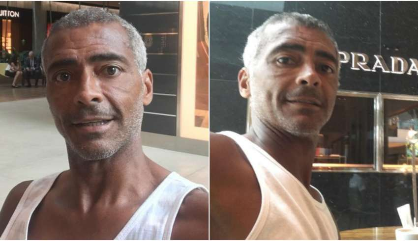 Romário faz cirurgia, aparece magro em fotos e impressiona