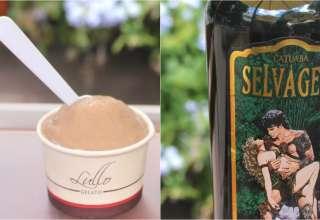 sorvete de catuaba