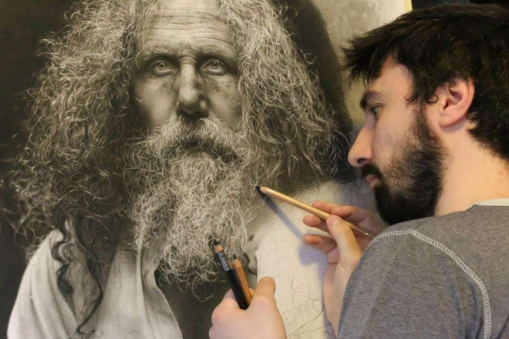 desenhos hiper-realistas