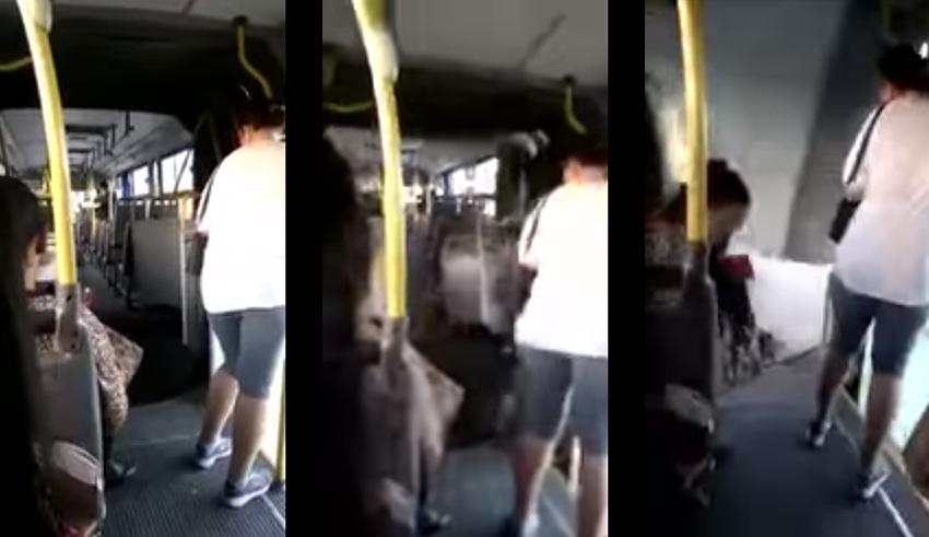 Vídeo mostra momento em que ônibus biarticulado se parte ao meio