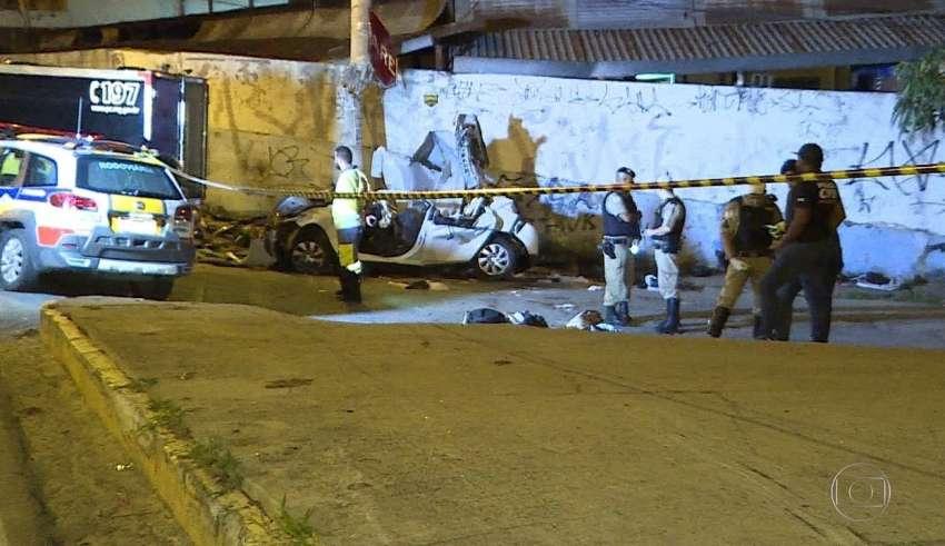 Homem é morto a tiros no Anel Rodoviário