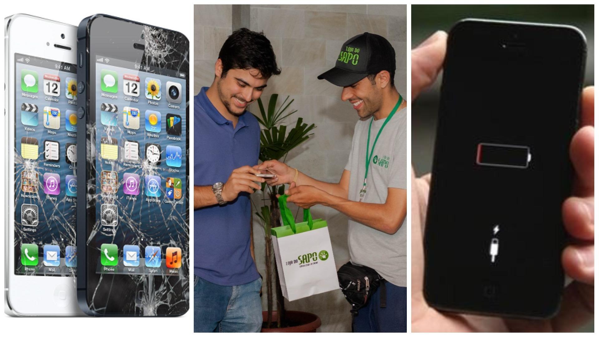 8a8256b7e5c Loja do Sapo! Conserte a tela e bateria do seu iPhone sem sair de casa