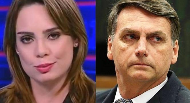 Sheherazade 'expulsa' seguidores de Bolsonaro de suas redes sociais