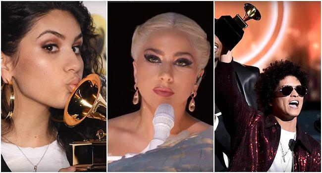 Grammy 2019 Ganhadores: Noite De Bruno Mars! Cantor Leva Seis Prêmios No Grammy