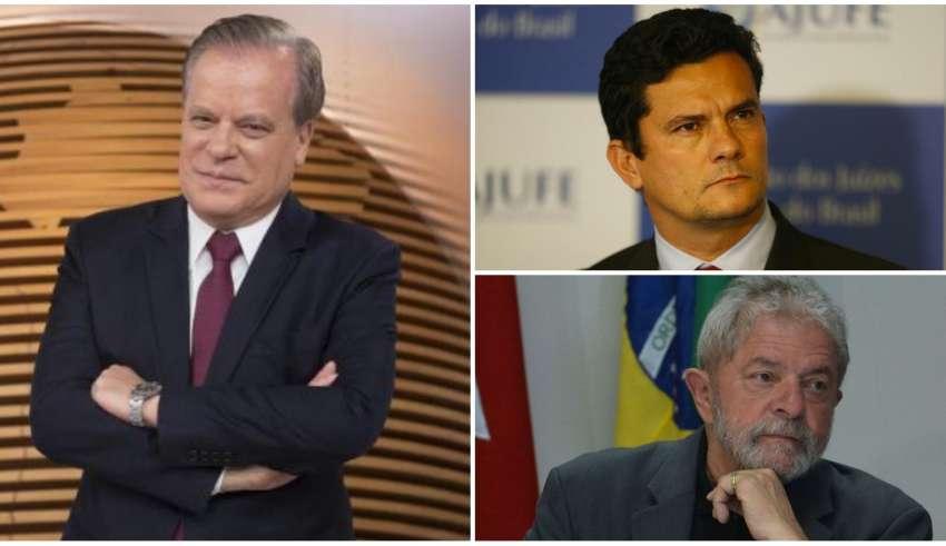 Áudio atribuído a Chico Pinheiro critica Sérgio Moro e prisão de Lula