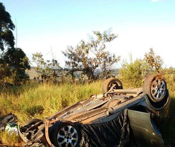 Acidente grave na BR 040, próximo á Lagoa dos Ingleses em Itabirito
