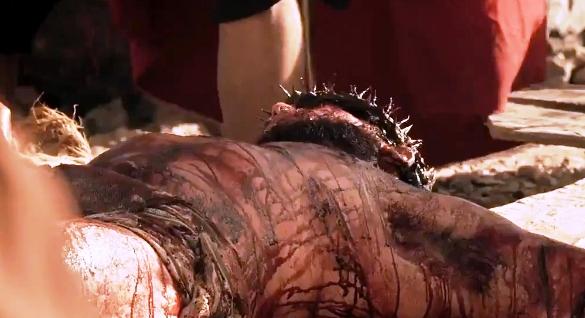A crucificação de Jesus na nova novela da Record deixou a