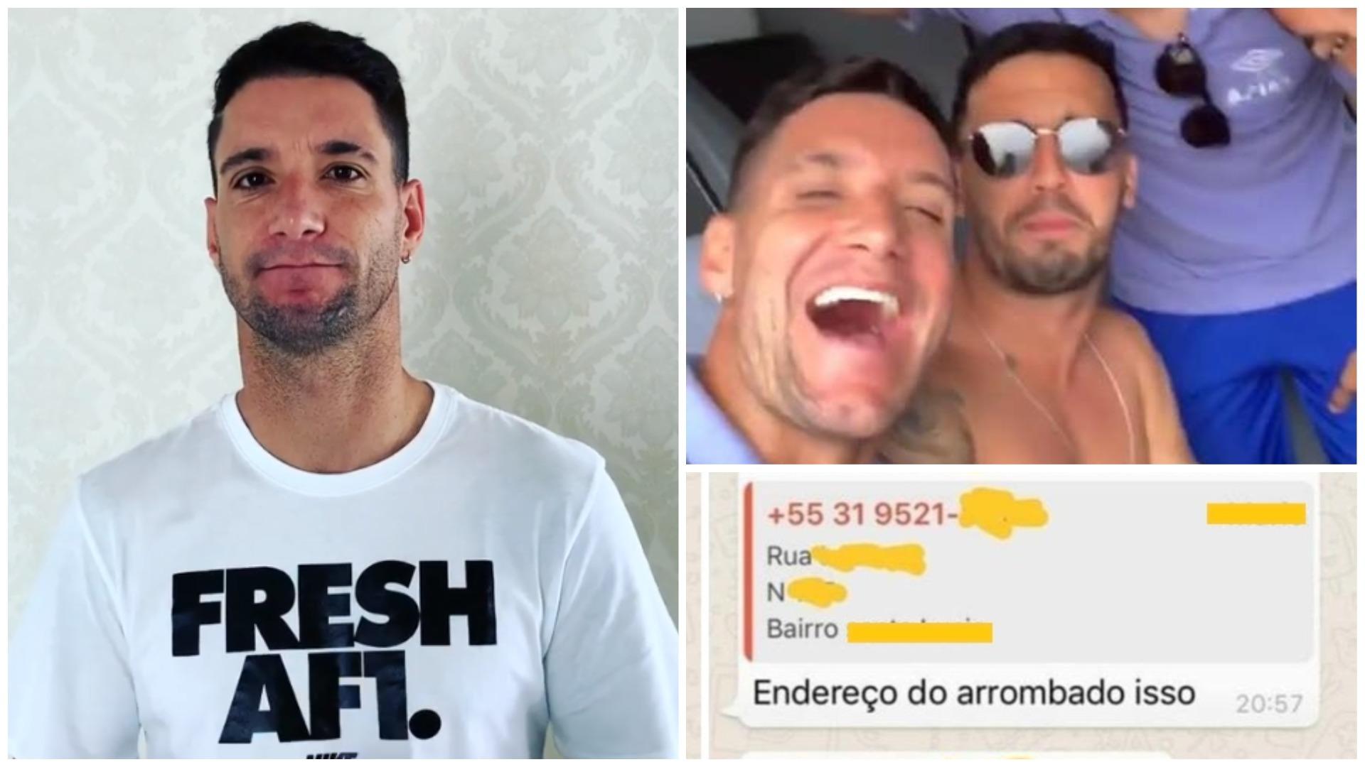 adc83a1364  Exagerei e peço desculpas a torcida do Atlético   Thiago Neves se retrata  após ameaças