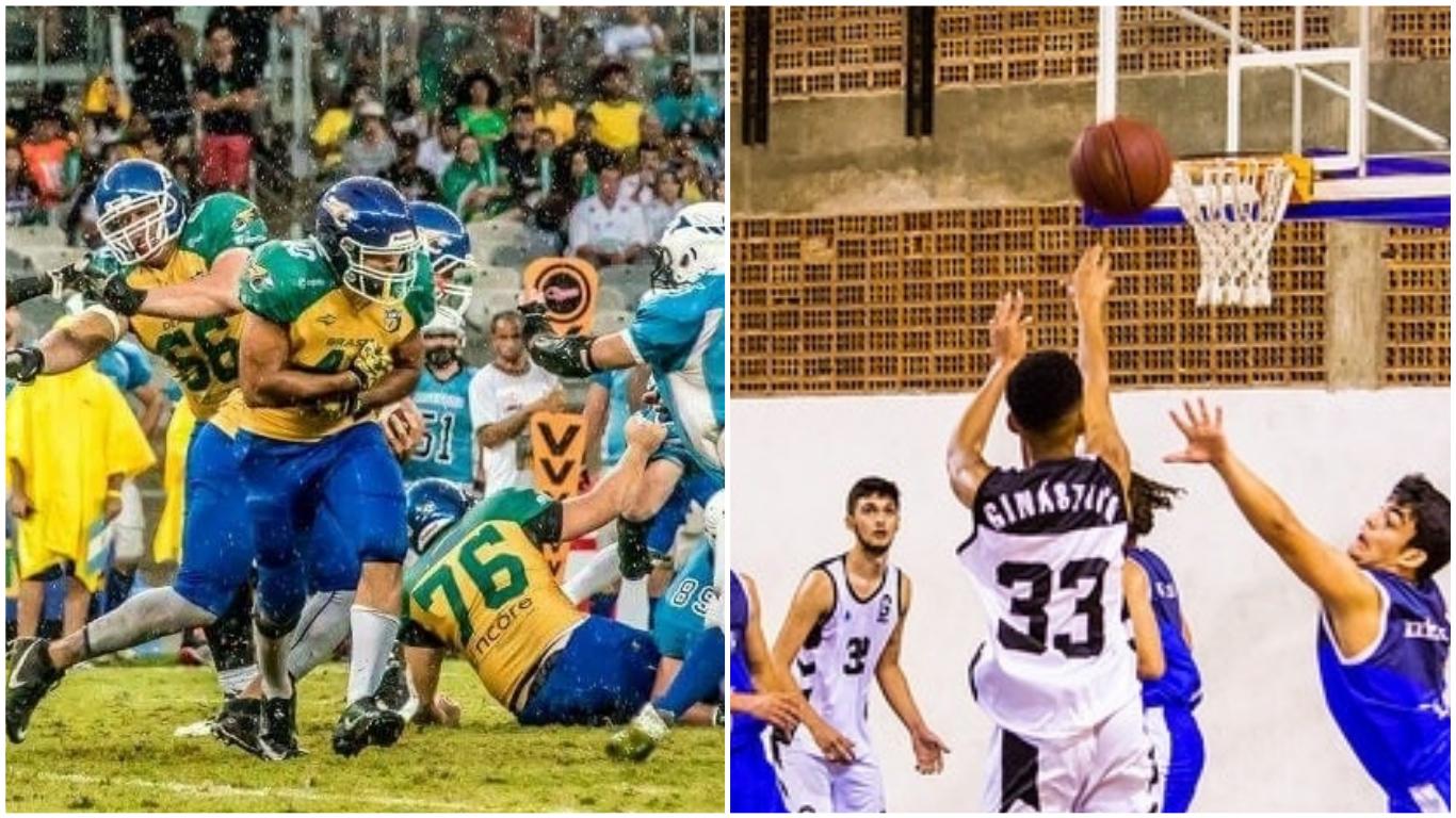 2d90cf3d05 Quer treinar basquete ou futebol americano  Equipes de BH recebem inscrições