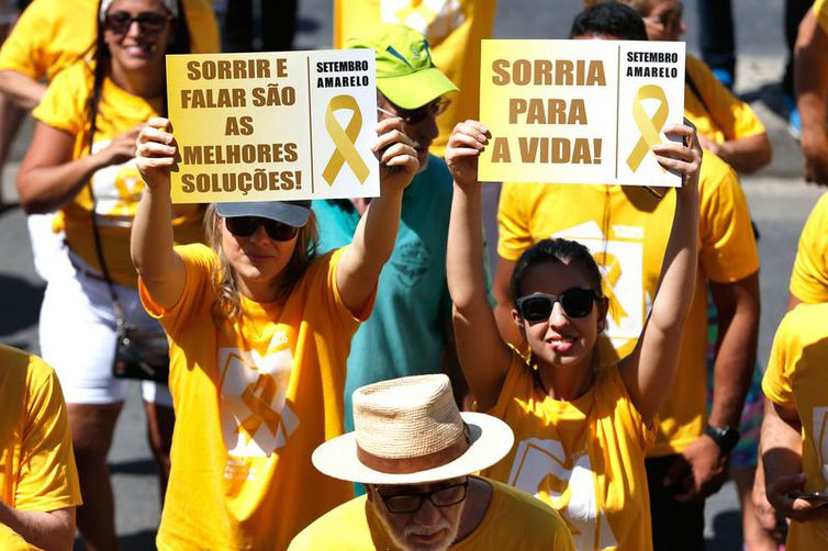 ato orla copacabana dia mundial de prevenção ao suicídio