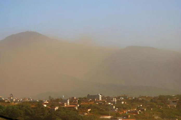 Cidade encardida: Congonhas ganha sistema que monitora a poeira ...