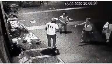 Homicídio na praça sete