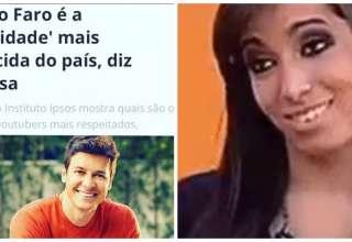 Rodrigo Faro é celebridade mais conhecida do Brasil