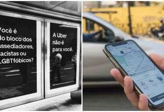 Nova campanha da Uber