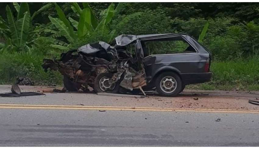 Acidente em rodovia mineira termina com homem morto