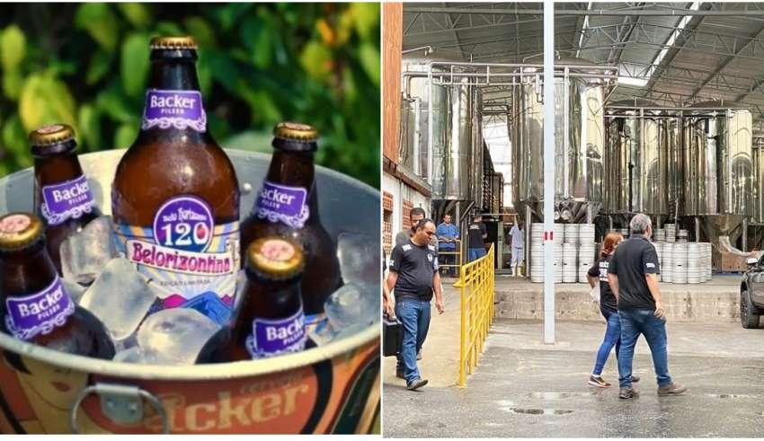 lotes cervejas backer