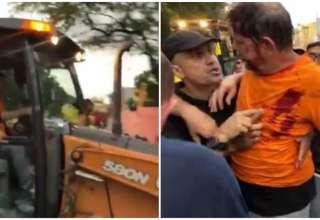 Senador foi baleado durante protesto de policiais