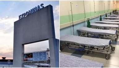 expominas vai virar hospital