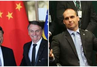 Eduardo Bolsonaro culpa China por coronavírus