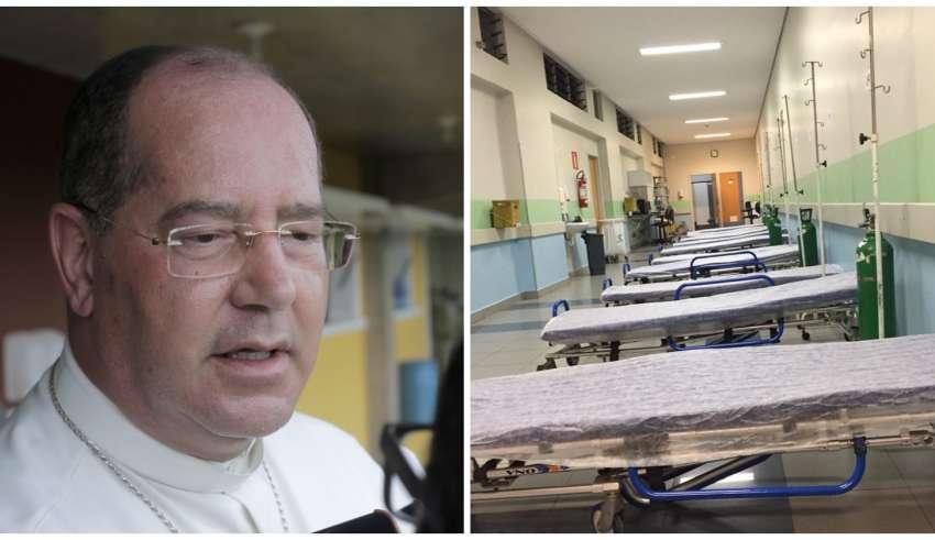 Arquidiocese oferece igrejas para tratamento do Covid-19