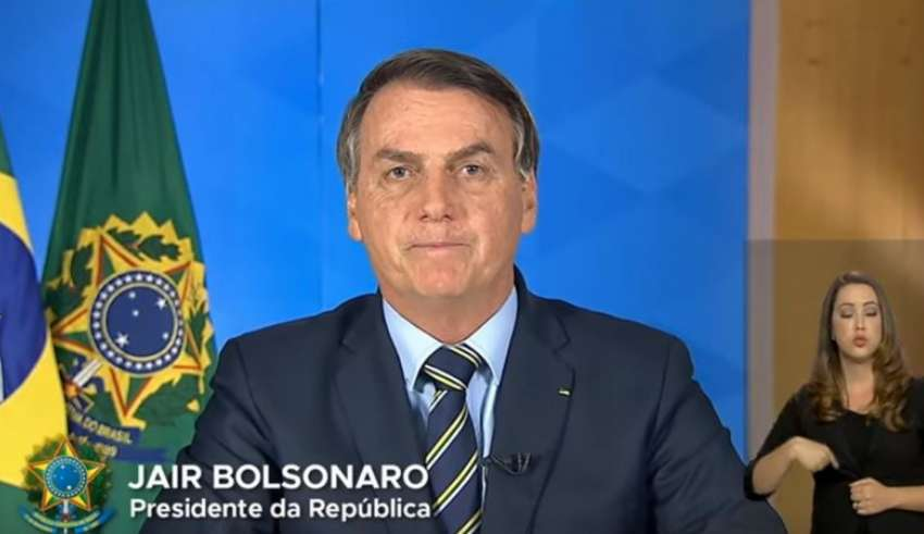 bolsonaro discurso coronavirus