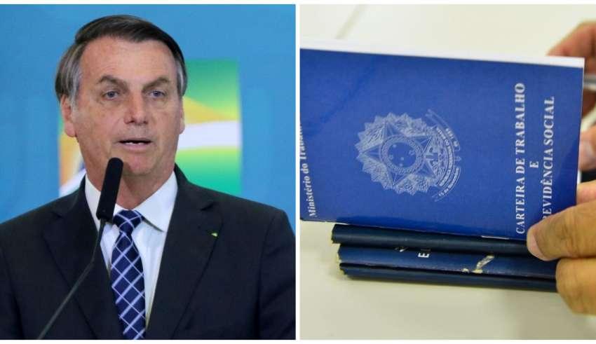 MP do Bolsonaro autoriza suspensão de contrato sem salário