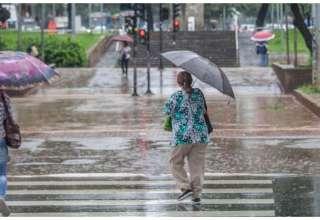 Chuva no Centro de BH