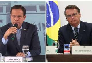João Doria voltou a criticar Bolsonaro nesta sexta