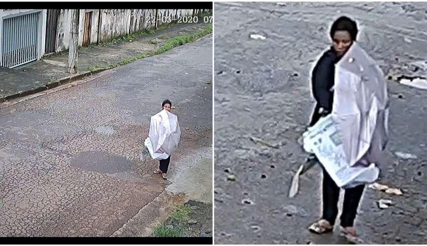 polícia pede ajuda para localizar mulher que abandonou bebê