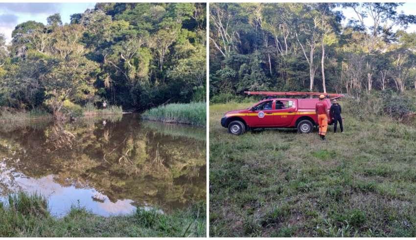 Lago em Bom Jesus do Amparo
