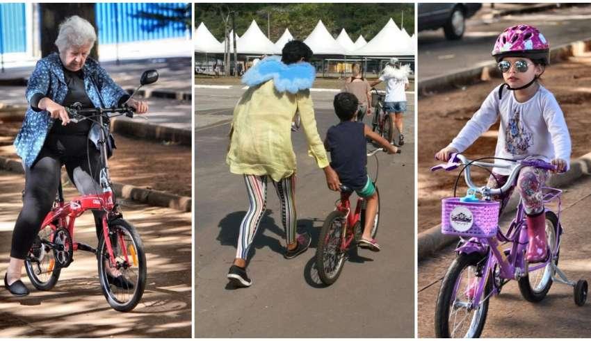 projeto dá aulas de bicicleta de graça