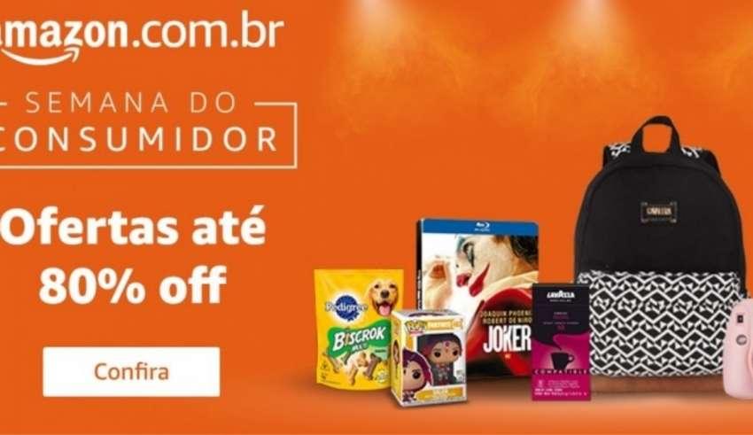 semana do consumidor amazon promoção