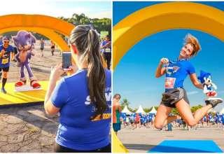 Minas Shopping recebe primeira edição da corrida Sonic Run em Belo Horizonte