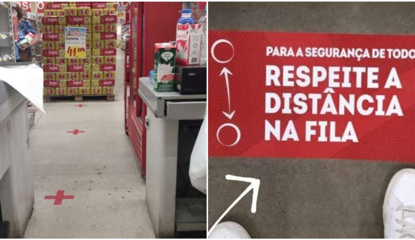 medidas supermercados e farmácias para conter avanço do coronavírus