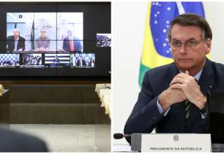 Reunião entre governadores e presidente Jair Bolsonaro