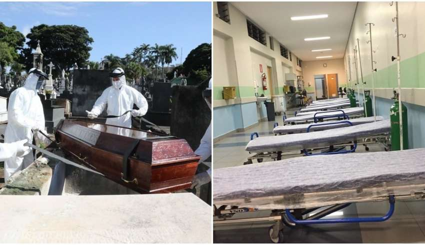 mortes minas coronavirus