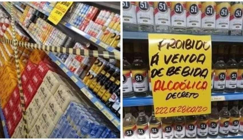 Em Araguaína, prefeito proibiu a venda das bebidas