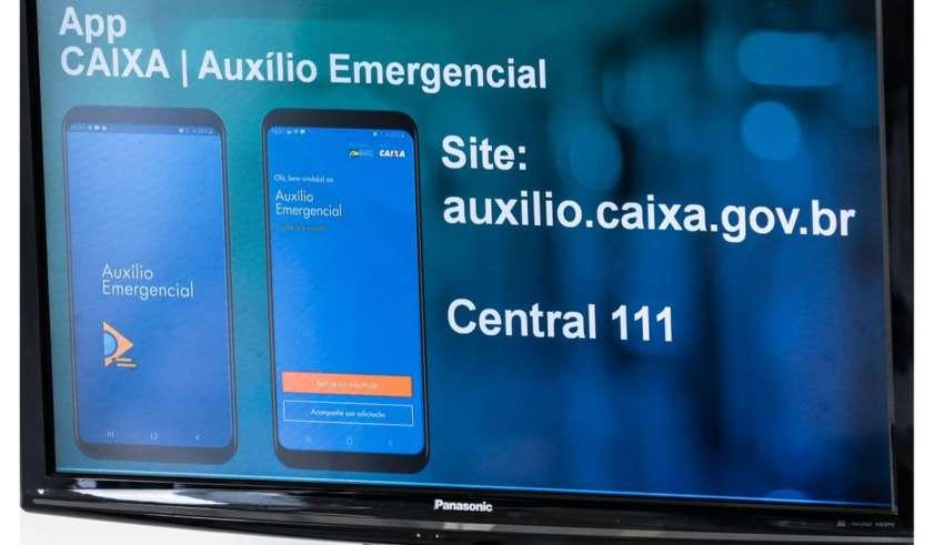 caixa libera auxilio emergencial